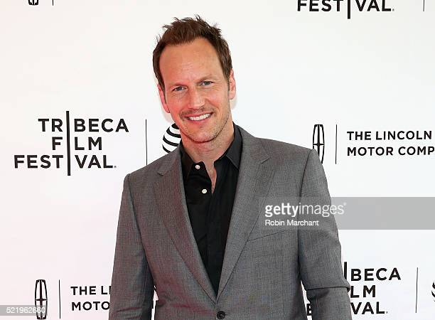 Patrick Wilson attends 'A Kind of Murder' premiere during 2016 Tribeca Film Festival at SVA Theatre 2 on April 17 2016 in New York City