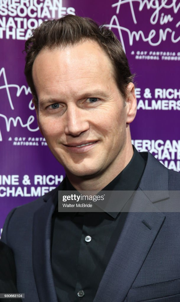 Patrick Wilson attends The American Associates of the National Theatre's Gala celebrating Tony Kushner's 'Angels in America' on March 11, 2018 at the Ziegfeld Ballroom, in New York City.