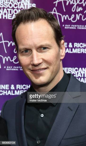 Patrick Wilson attends The American Associates of the National Theatre's Gala celebrating Tony Kushner's 'Angels in America' on March 11 2018 at the...