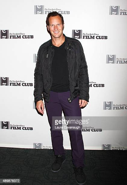 Patrick Wilson attends the 'Big Stone Gap' New York Screening at Sunshine Landmark on September 24 2015 in New York City