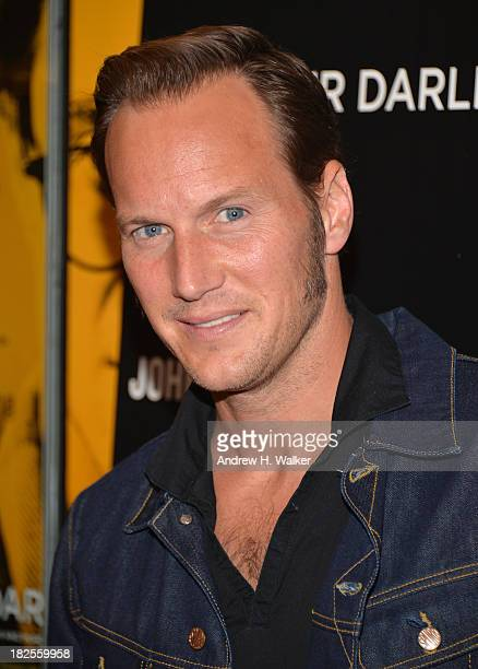 Patrick Wilson attends The Cinema Society and Johnston Murphy screening of Sony Pictures Classics' Kill Your Darlings at Paris Theater on September...