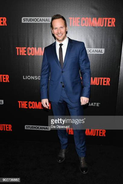 Patrick Wilson attends 'The Commuter' New York premiere at AMC Loews Lincoln Square on January 8 2018 in New York City