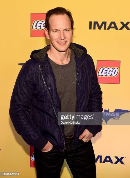 Patrick Wilson attends 'The Lego Batman Movie' New York Screening at AMC Loews Lincoln Square 13 on February 9 2017 in New York City