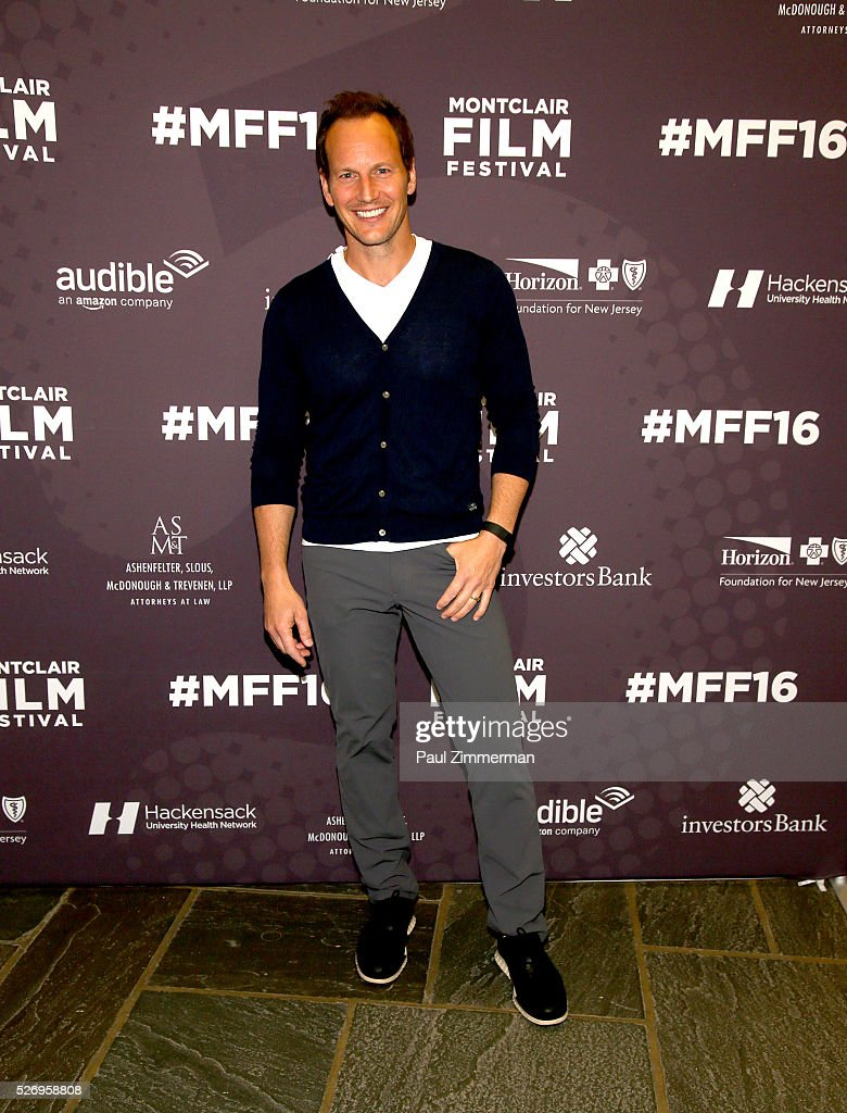 Patrick Wilson attends the Montclair Film Festival 2016 - Day 3 Conversations at Montclair Kimberly Academy on May 1, 2016 in Montclair, New Jersey.