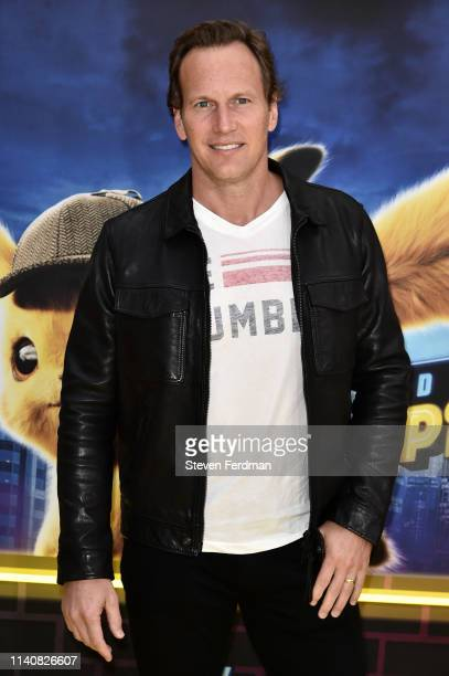 Patrick Wilson attends the premiere of Pokemon Detective Pikachu at Military Island in Times Square on May 2 2019 in New York City