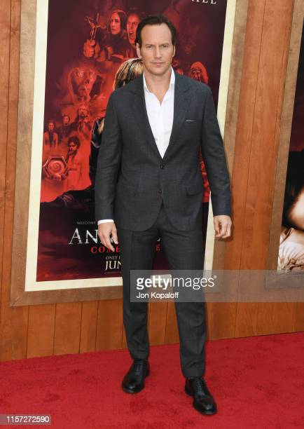 Patrick Wilson attends the Premiere Of Warner Bros' Annabelle Comes Home at Regency Village Theatre on June 20 2019 in Westwood California