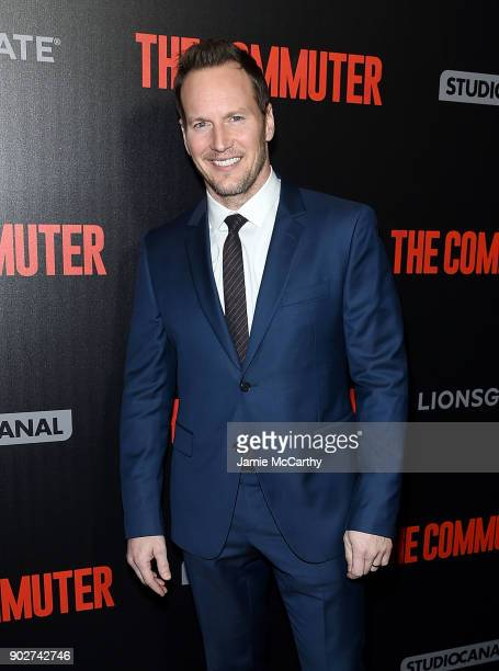 Patrick Wilson attends the 'The Commuter' New York Premiere at AMC Loews Lincoln Square on January 8 2018 in New York City