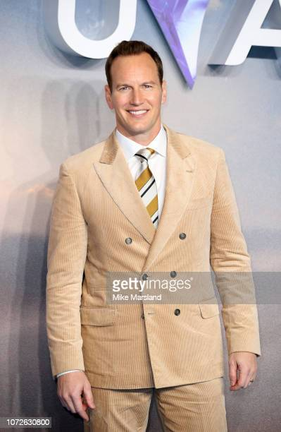Patrick Wilson attends the World Premiere of 'Aquaman' at Cineworld Leicester Square on November 26 2018 in London England
