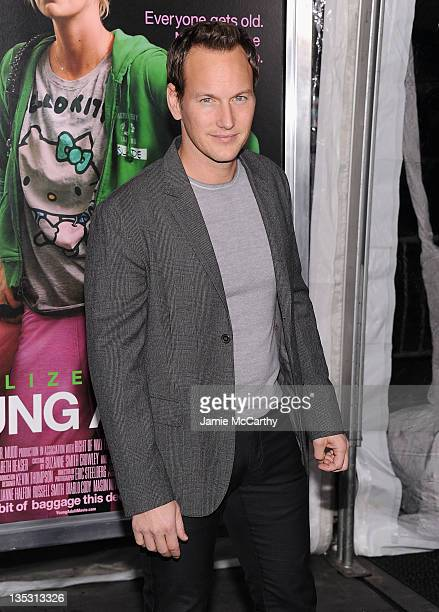 Patrick Wilson attends the 'Young Adult' world premiere at the Ziegfeld Theatre on December 8 2011 in New York City