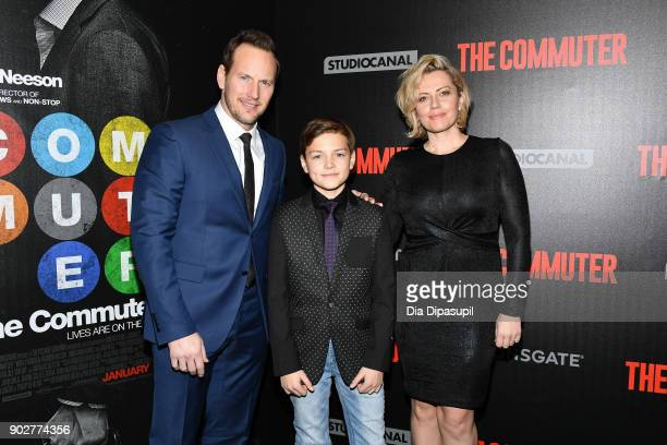 Patrick Wilson Kalin Patrick WIlson and Dagmara Dominczyk attend 'The Commuter' New York premiere at AMC Loews Lincoln Square on January 8 2018 in...