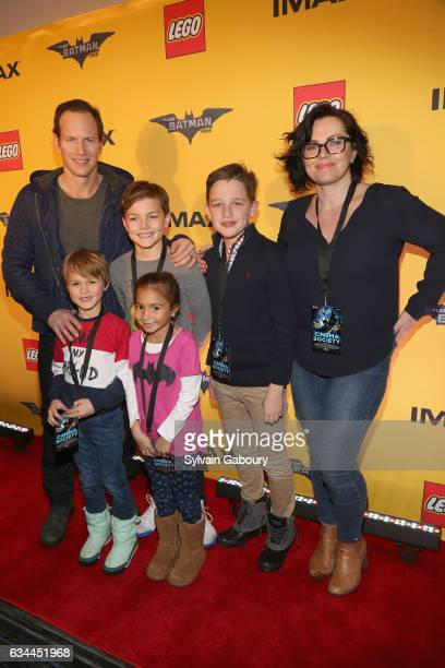 Patrick Wilson Kassian McCarrell Wilson Kalin Patrick Wilson Guests and Dagmara Dominczyk attend The Lego Batman Movie Special Screening on February...