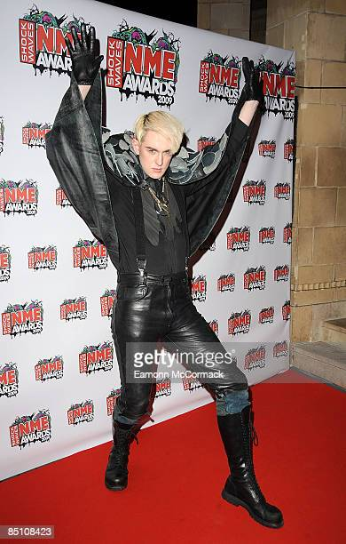 Patrick Wolf attends the Shockwaves NME Awards at O2 Academy Brixton on February 25 2009 in London England