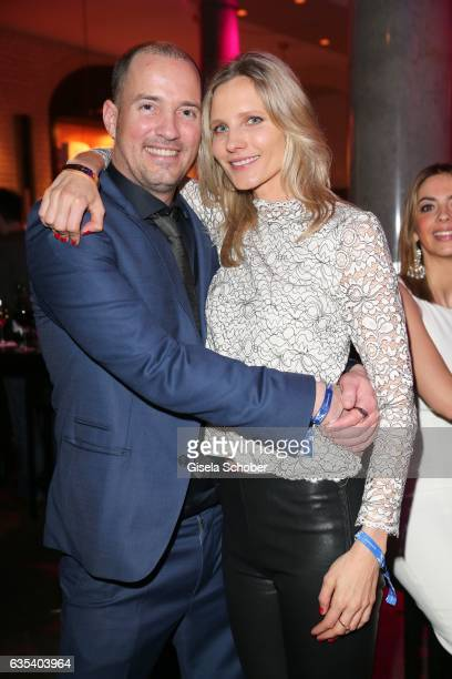 Patrick Wolff and Kathrin Seitz during the BUNTE BMW Festival Night 2017 during the 67th Berlinale International Film Festival Berlin at restaurant...