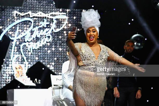 PatrickStarrr speaks onstage during M·A·C PatrickStarrr The Damn Show at Hammerstein Ballroom on December 13 2017 in New York City