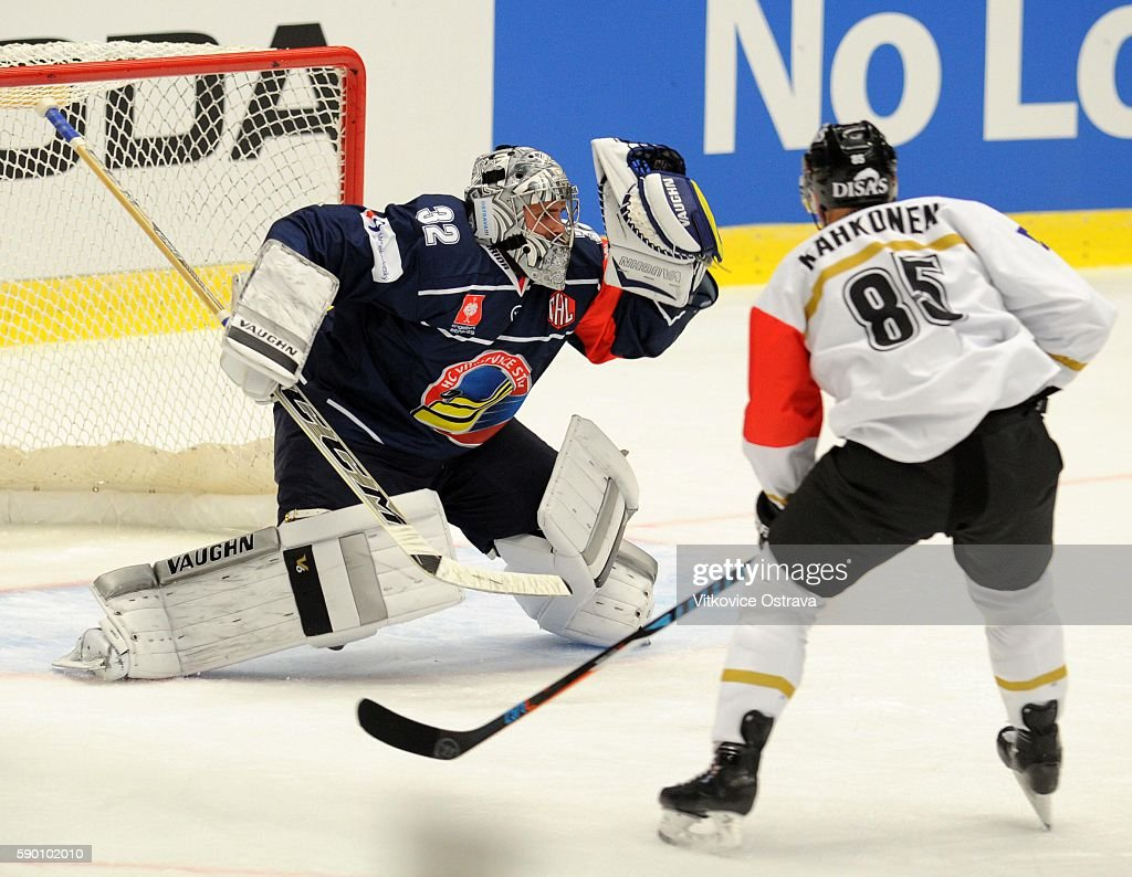 Vitkovice Ostrava v Karpat Oulu - Champions Hockey League : News Photo