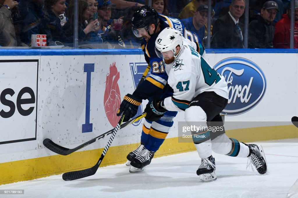 San Jose Sharks v St Louis Blues : News Photo