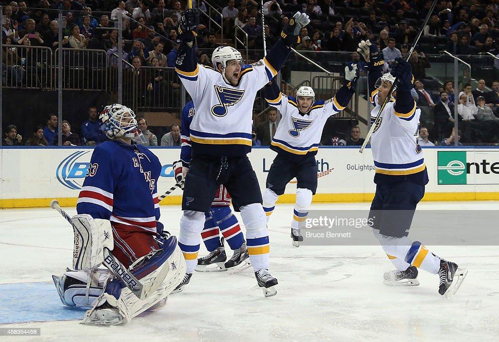 St Louis Blues v New York Rangers