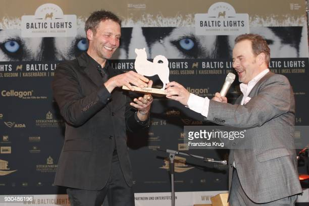 Patrik Fichte and Till Demtroeder during the 'Baltic Lights' charity event on March 10 2018 in Heringsdorf Germany The annual event hosted by German...