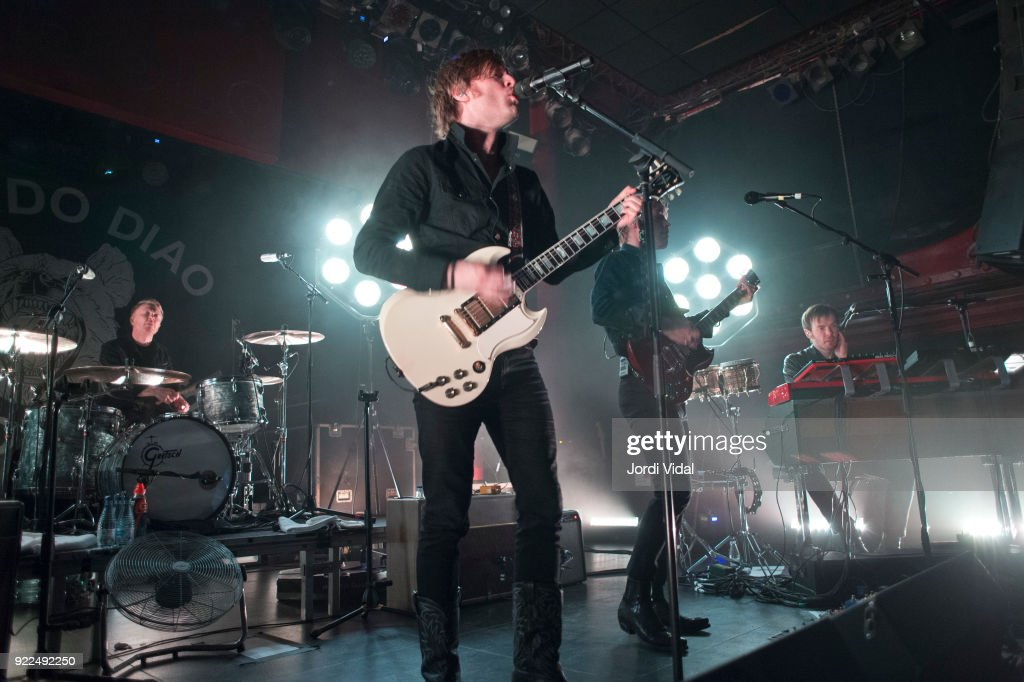 Mando Diao Perform in Concert in Barcelona