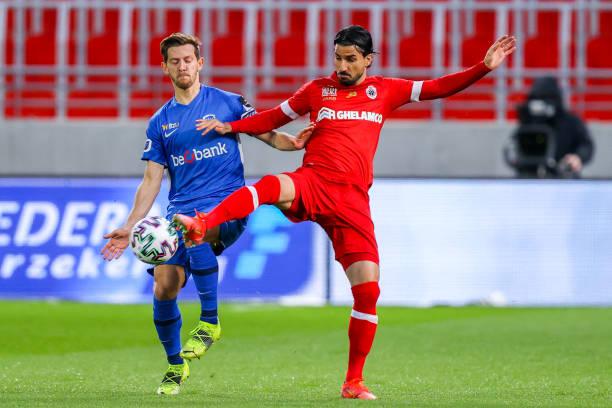 BEL: Royal Antwerp v KRC Genk - Jupiler Pro League