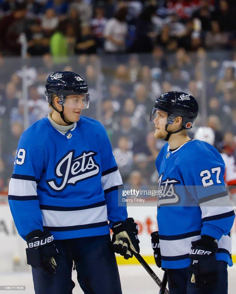 reputable site 0ed7c 3eec3 Patrik Laine and Nikolaj Ehlers of the Winnipeg Jets discuss ...