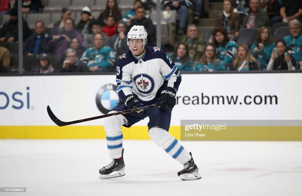 Winnipeg Jets v San Jose Sharks : News Photo