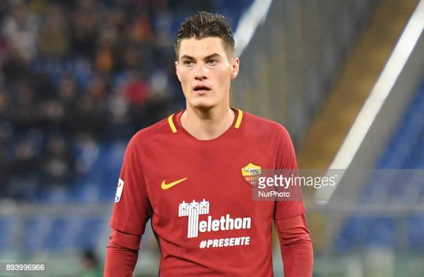 Patrik Schick during the Italian Serie A football match between AS Roma and Cagliari at the Olympic Stadium in Rome on december 16 2017