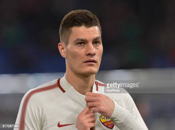 Patrik Schick during the Italian Serie A football match between AS Roma and Benevento at the Olympic Stadium in Rome on february 11 2018