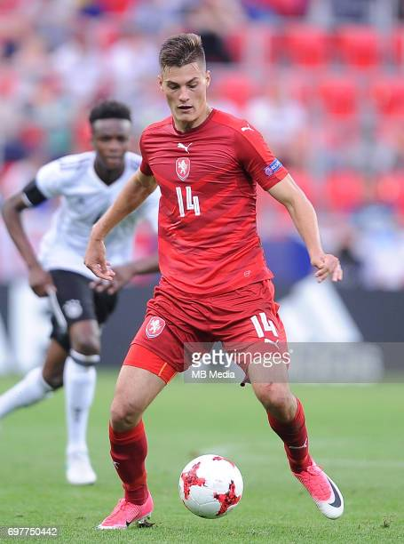 Patrik Schick during the UEFA European Under21 match between Germany and Czech Republic on June 18 2017 in Tychy Poland