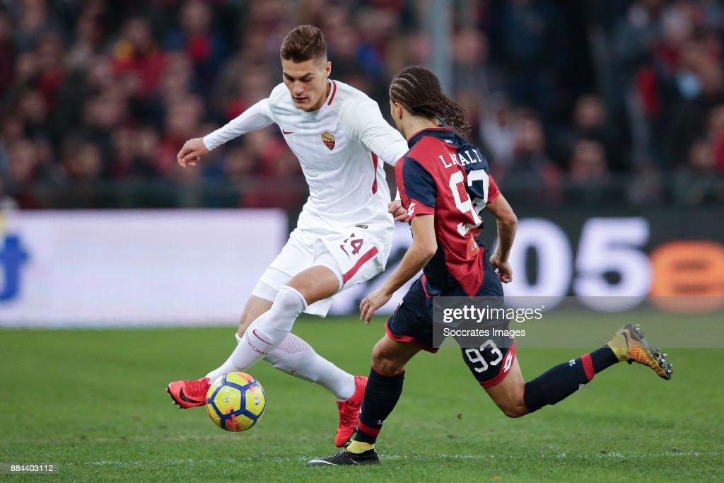 Genoa v AS Roma - Italian Serie A : Fotografía de noticias