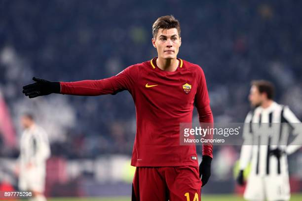 Patrik Schick of As Roma during the Serie A football match between Juventus Fc and As Roma Juventus Fc wins 10 over As Roma