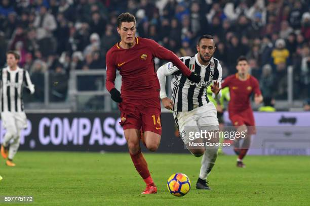 Patrik Schick of As Roma in action during the Serie A football match between Juventus Fc and As Roma Juventus Fc wins 10 over As Roma