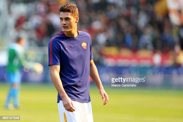 Patrik Schick of As Roma looks on before the Serie A football match between Torino Fc and As Roma As Roma wins 10 over Torino Fc
