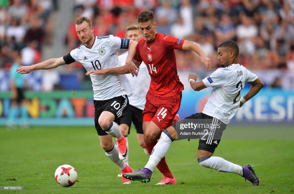 Germany v Czech Republic - 2017 UEFA European Under-21 Championship : Foto di attualità