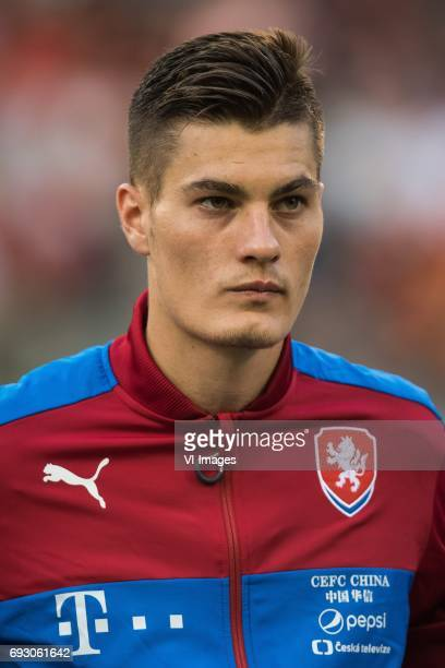 Patrik Schick of Czech Republicduring the friendly match between Belgium and Czech Republic on June 05 2017 at the Koning Boudewijn stadium in...