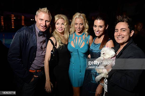 Patrik Simpson actresss Teri Copley tv personality Liz Fuller actress Cory Oliver and guest attend Star Scene Stealers Event at Tropicana Bar at The...