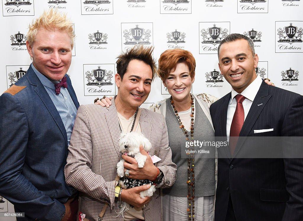 EcoLuxe Lounge Celebrates the Emmys : News Photo