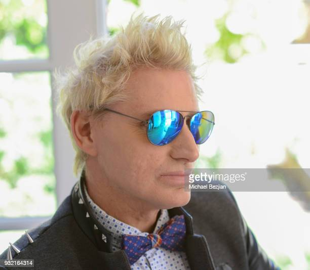 Patrik Simpson wearing Foster Grant sunglasses at The Artists Project Giveback Day on March 14 2018 in Los Angeles California