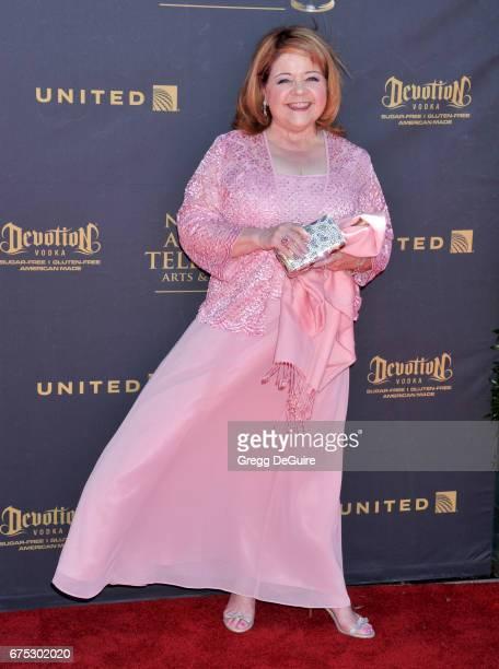 Patrika Darbo arrives at the 44th Annual Daytime Emmy Awards at Pasadena Civic Auditorium on April 30 2017 in Pasadena California