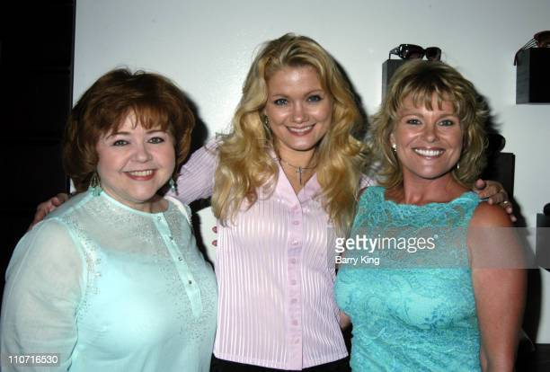 Patrika Darbo Jacee Jule and Judi Evans during OCCHI Eye Boutique Store Opening Arrivals and Inside at Occhi Eye Boutique in West Hollywood CA United...