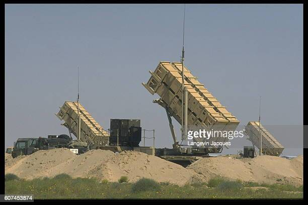 Patriot antimissile missiles have been deployed in the event of an attack by Iraqi Scuds