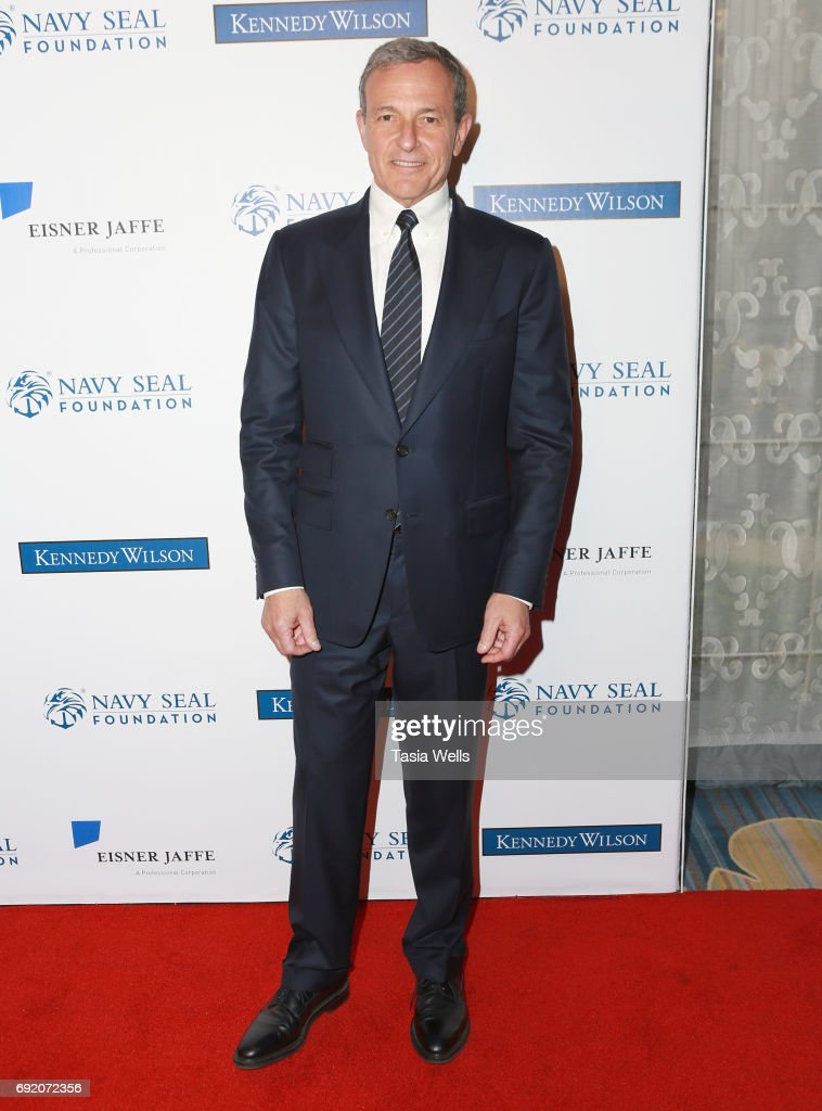 Patriot Award recipient Robert A. Iger attends the 2017 Los Angeles Evening of Tribute Benefiting the Navy SEAL Foundation on June 1, 2017 in Beverly Hills, California.