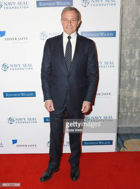 Patriot Award recipient Robert A Iger attends the 2017 Los Angeles Evening of Tribute Benefiting the Navy SEAL Foundation on June 1 2017 in Beverly...