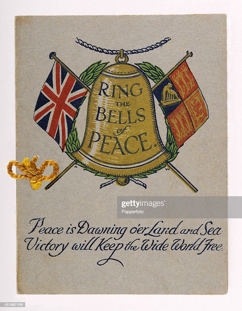 Patriotic Christmas Card - World War One Pictures | Getty Images