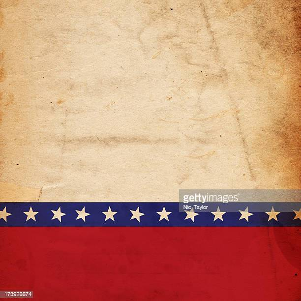 Patriotic grunge paper background
