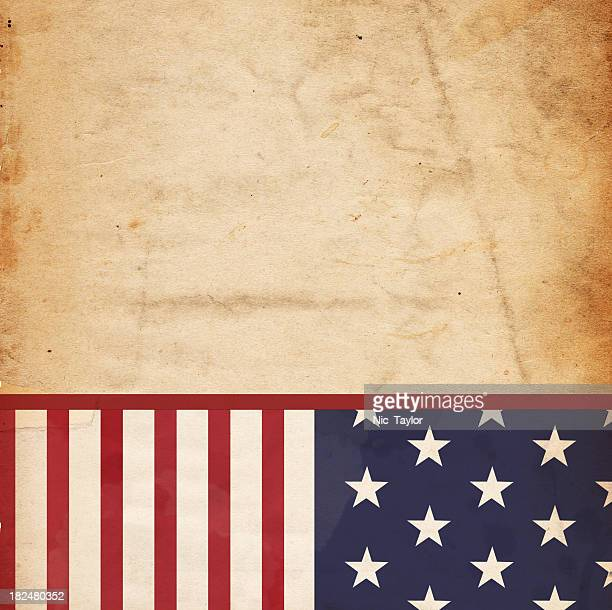 Patriotic Paper Background - XXXL