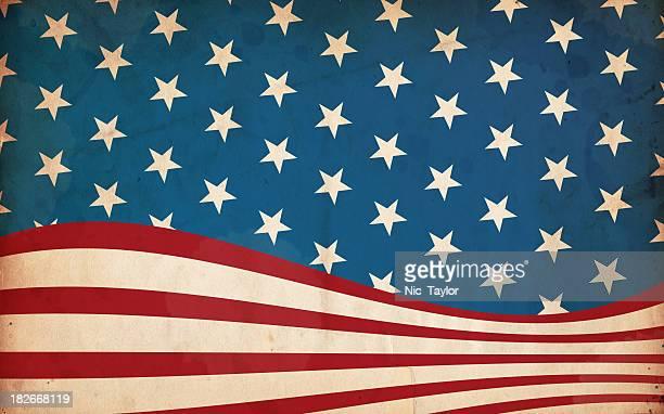 Patriotic Paper Background - XXXL