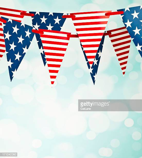 Patriotic Party Flags