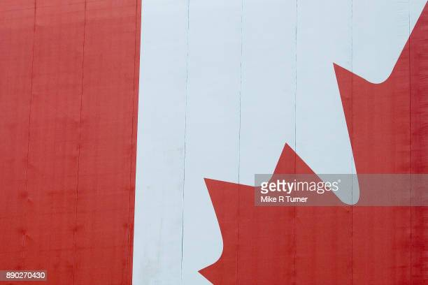 patriotic - canadian flag stock pictures, royalty-free photos & images