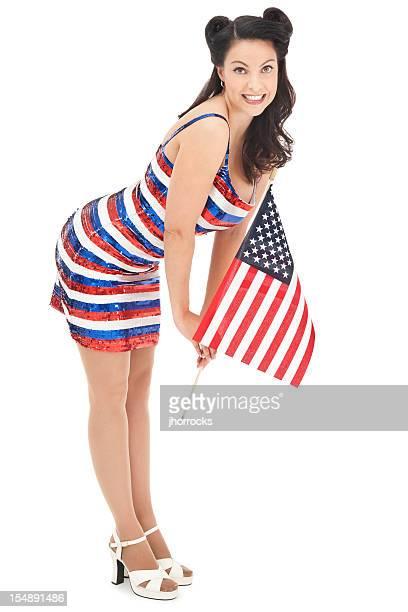 Patriotic Pin-up Girl
